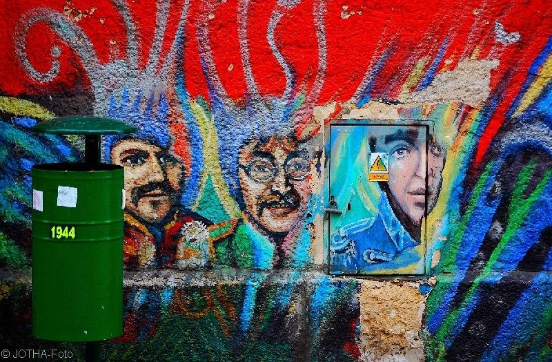 Graffiti-Hommage