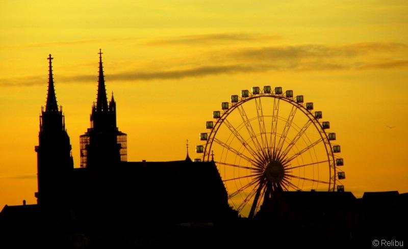 Relibu Abendstimmung über dem Münsterhügel 23.11.10