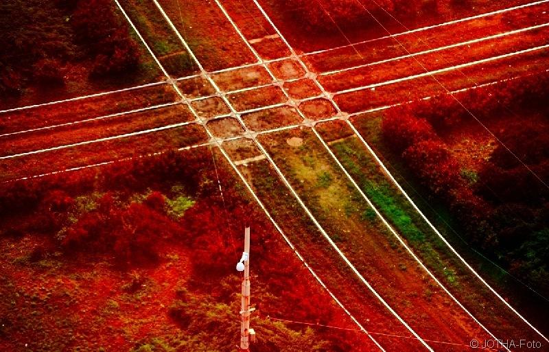Schienenkreuze