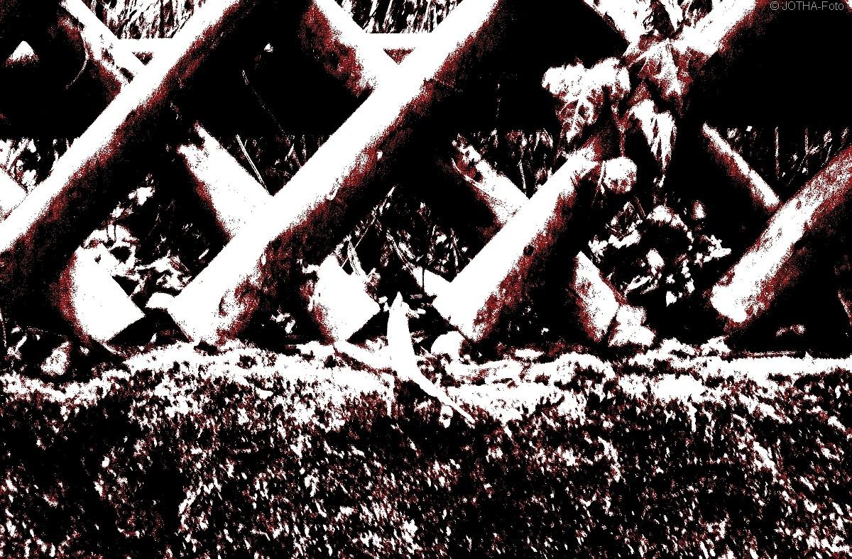 Der Jägerzaun